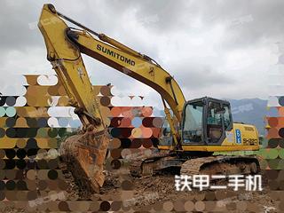 厦门住友SH220LC-5挖掘机实拍图片