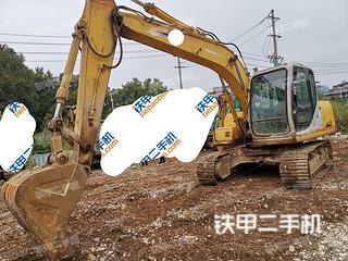 厦门住友SH120-3挖掘机实拍图片