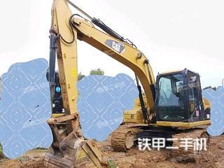 卡特彼勒312D挖掘機實拍圖片