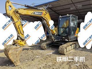 三一重工SY60C挖掘机实拍图片