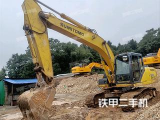 厦门住友SH210-5挖掘机实拍图片