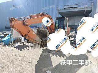 天津日立ZX120挖掘机实拍图片