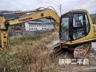 四川-广元市二手小松PC60-7挖掘机实拍照片
