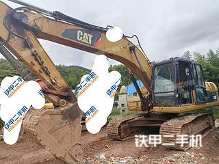 楚雄卡特彼勒320D液压挖掘机实拍图片
