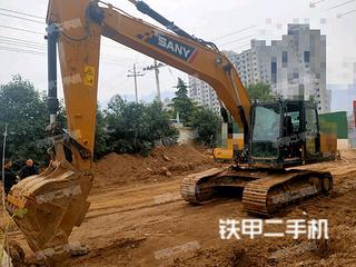 运城三一重工SY200C挖掘机实拍图片