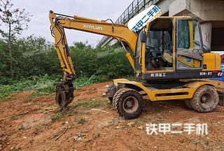 新源XY85-8T挖掘机实拍图片