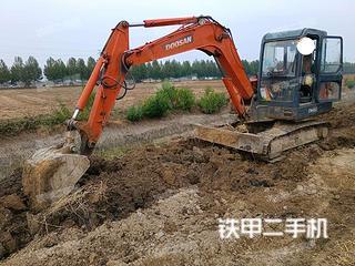 斗山DH55-V挖掘机实拍图片
