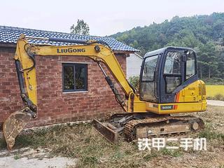 柳工CLG9055E挖掘机实拍图片