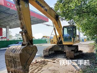 安徽-阜阳市二手小松PC200-8挖掘机实拍照片