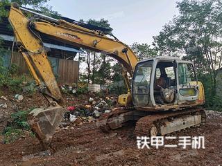 深圳住友SH120挖掘机实拍图片