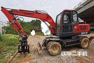山东鲁班CBL80-9挖掘机实拍图片