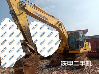 安徽-六安市二手小松PC200-8挖掘机实拍照片