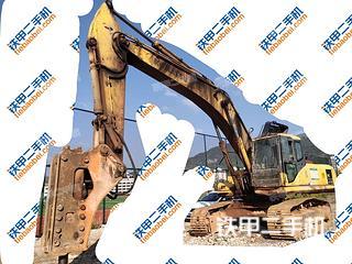 贵州-黔东南苗族侗族自治州二手小松PC360-7挖掘机实拍照片