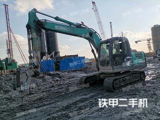 上海神钢SK130-8挖掘机实拍图片