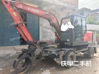 广西-崇左市二手鑫豪XH906L挖掘机实拍照片