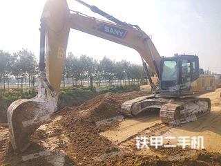 东营三一重工SY205C挖掘机实拍图片