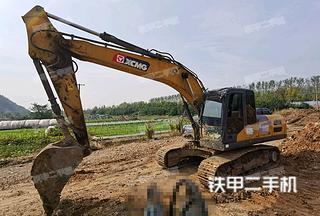 安徽-马鞍山市二手徐工XE200DA挖掘机实拍照片