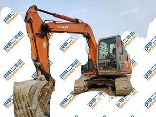 天津日立ZX70挖掘机实拍图片