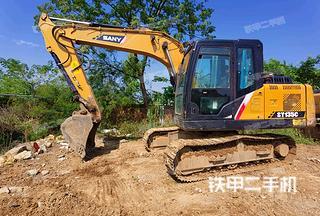 广西-来宾市二手三一重工SY115C挖掘机实拍照片