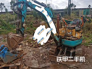 云南-昆明市二手久保田U-15-3S挖掘机实拍照片