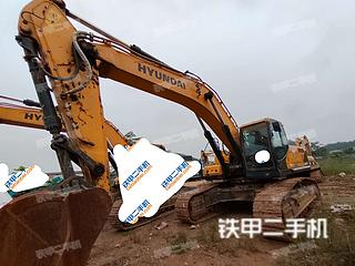 现代R385LVS挖掘机实拍图片