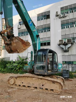 深圳神钢SK200-6E挖掘机实拍图片