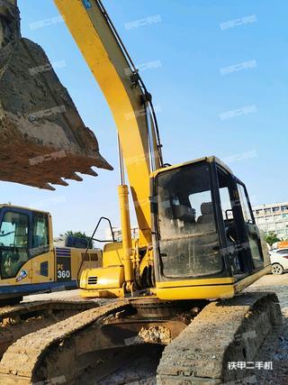深圳小松PC200-6E挖掘机实拍图片