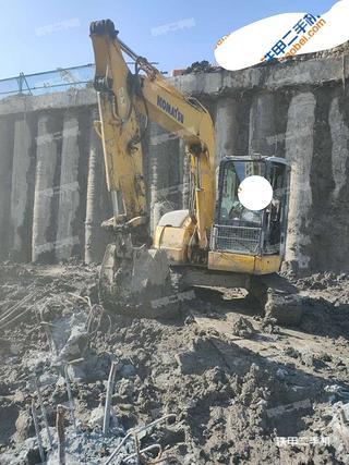 天津小松PC78US-6NO挖掘机实拍图片