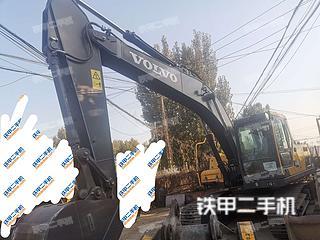 石家庄沃尔沃EC210D挖掘机实拍图片