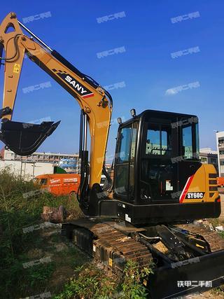 深圳三一重工SY60C挖掘机实拍图片