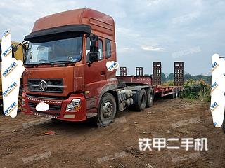 东风6X4平板运输车实拍图片