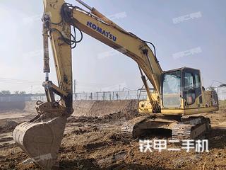 东营小松PC200-8挖掘机实拍图片