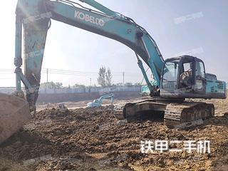 东营神钢SK350LC-8挖掘机实拍图片