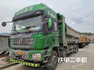 陕汽重卡8X4工程自卸车实拍图片