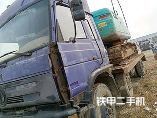 东风6X2平板运输车实拍图片