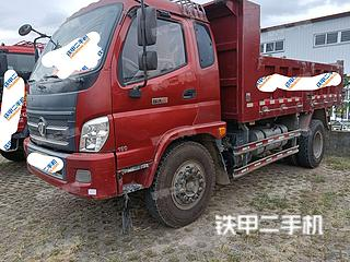 中国重汽4X2工程自卸车实拍图片