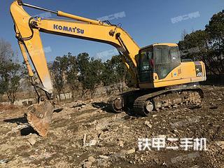 浙江-杭州市二手小松PC200-7挖掘机实拍照片