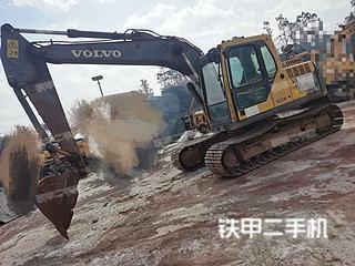 云南-昆明市二手沃尔沃EC140BLC挖掘机实拍照片