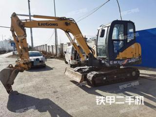 陕西-咸阳市二手柳工CLG906D挖掘机实拍照片