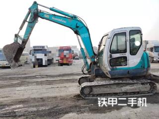 江苏-淮安市二手山河智能SWE70N9挖掘机实拍照片