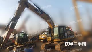 江苏-徐州市二手卡特彼勒320D液压挖掘机实拍照片