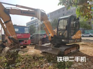 广西-贺州市二手柳工CLG906D挖掘机实拍照片