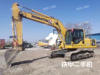 滨州小松PC200LC-8M0挖掘机实拍图片