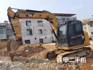 柳州卡特彼勒307E液压挖掘机实拍图片