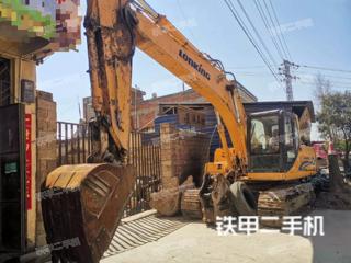 云南-昭通市二手龙工LG6215挖掘机实拍照片