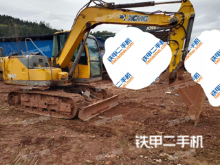包頭徐工XE80C挖掘機實拍圖片