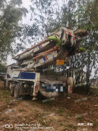 中联重科ZLJ5382THB46泵车实拍图片