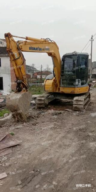 小松PC78US-6N0挖掘機實拍圖片