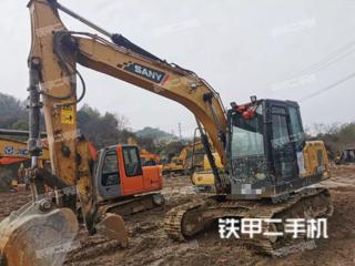 浙江-绍兴市二手三一重工SY135C挖掘机实拍照片