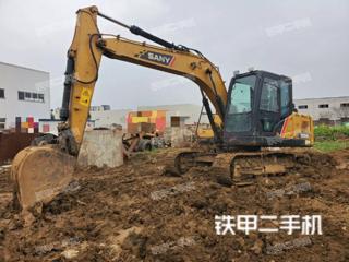 安徽-六安市二手三一重工SY135C挖掘机实拍照片